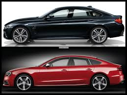 photo comparison bmw 4 series gran coupe vs audi s5 sportback