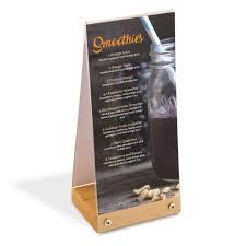 restaurant table top display stands countertop display solutions restaurant tabletop menu stand