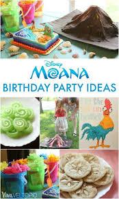 birthday party ideas awesome moana birthday party ideas viva veltoro