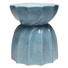 Teal Accent Table Made Goods Bea Accent Table U0026 Stool Soft Blue Candelabra Inc