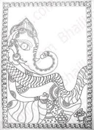 how to make madhubani painting u2013 bhaili u2013 your friend