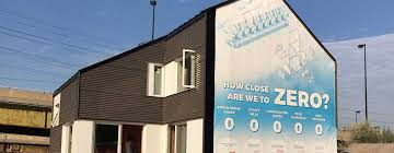 zero house is an attempt to meet the highest goals in sustainable