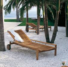 Outdoor Wood Chaise Lounge Triconfort Outdoor Furniture The Equinox Solid Wood Furniture