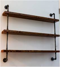 Rustic Home Decor by Rustic Industrial Shelf Brackets Industrial Shelves Rustic Home