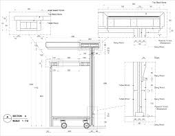 Typical Desk Depth by Bar Counter Detail Drawing Google Search Detale Pinterest