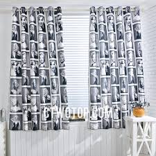 Cool Curtains Marilyn Person Cool Patterned Gray Modern Shower Curtains
