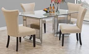 Mirrored Dining Room Furniture Mirrored Dining Table Collection