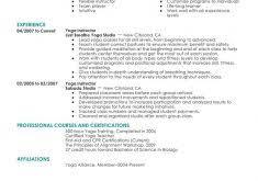 Sample Resume Simple by Simple Sample Resume Haadyaooverbayresort Com