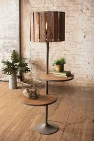 wooden home decor items decorative wood stand lamps living room with two tier wood tray