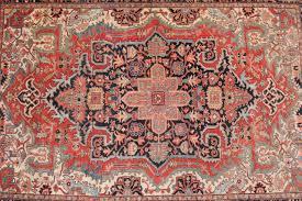 Antique Heriz Rug Fine Antique Heriz Persian Rug Carpet With Serapi Colors C 1910