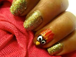 happy thanksgiving glitter 50 most beautiful thanksgiving nail art design ideas