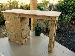 Diy Pallet Wood Distressed Table Computer Desk 101 Pallets by 1924 Best Pallet Furniture And Projects Images On Pinterest