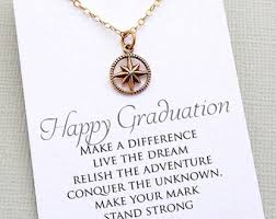 high school class necklaces graduation gifts for compass necklace compass