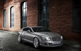 bentley continental wallpaper silver bentley continental gt on the pavement the continental gt