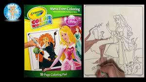 crayola color disney princess coloring book aurora sleeping