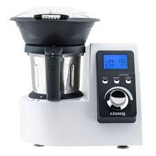 appareil cuisine tout en un h koenig hkm1032 culinaire chauffant multi fonctions 1230w