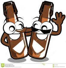beer can cartoon isolated bottles of beer cartoon stock illustration image 49144589