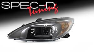 2004 toyota camry lights specdtuning demo video 2002 2004 toyota camry headlights youtube