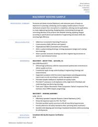 Cnc Programmer Job Description Doc 10201320 Machine Operator Job Description Machinist Resumes