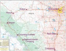 bc map southwest alberta southeast b c map gem trek publications