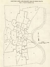 Montclair Campus Map 1950 Census Tracts Indiana University Libraries