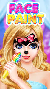 face paint makeup games makeover painting games on the app store