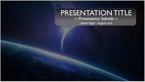 free powerpoint templates ppt space powerpoint template 10092 free space powerpoint template by james sager