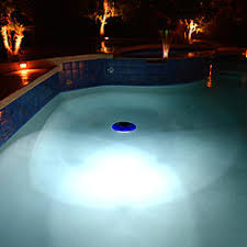 solar pool lights underwater hton bay solar floating pool lights