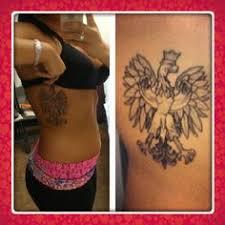 eagle tattoo on shoulder blade