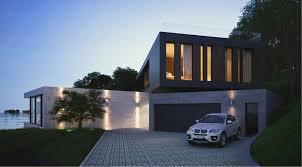 Contemporary Home Exterior by Frente Simple Y Cerrado No Dice Mucho Y Fondo Abierto Mix De