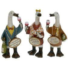 collectable duck ornaments figurines ebay