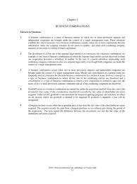solution manual advanced accounting beams 11e chp1 pdf goodwill