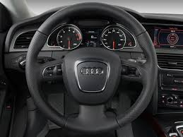 image 2009 audi a5 2 door coupe auto steering wheel size 1024 x