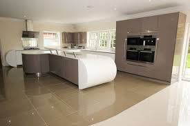 kitchen island worktops curved kitchens from lwk kitchens german kitchen supplier