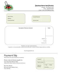 Lawn Maintenance Invoice Template by Lawn Service Invoice Template Invoice Template Ideas