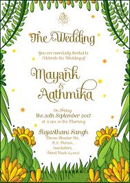 maharashtrian wedding invitation on behance