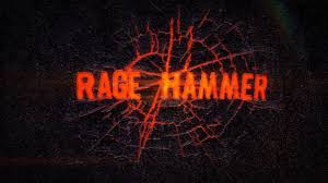 after effects template rage hammer fiery hammer smash logo