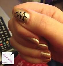 christmas tree nail design polishpedia nail art nail guide