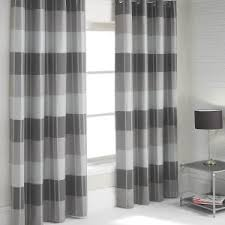 Grey White Striped Curtains Curtains Pretty Vertical Striped Curtains For Lovely Window