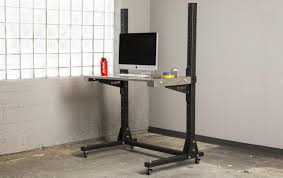 Stand Up Computer Desk Ikea Table Divine Rogue Stand Up Desk Supply Co Computer Ikea Header La