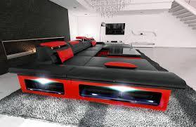 amazon com big sectional sofa monza led kitchen u0026 dining