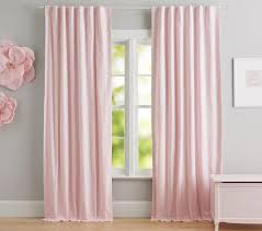 eyelet border blackout curtain pottery barn kids