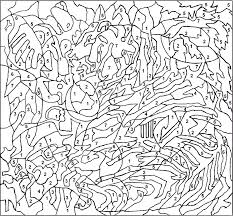 coloring pages color number books adults fresh