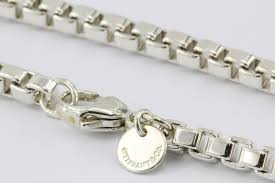 box link bracelet images Tiffany co sterling silver venetian box link bracelet 7 5 JPG