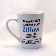 real estate license zillow coffee mug real estate coffee cup