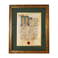 wedding blessing wedding blessing framed print 9 x 10 inches the catholic