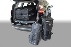 renault grand scenic luggage capacity car bags travel bag sets renault grand scénic iv 2016 present