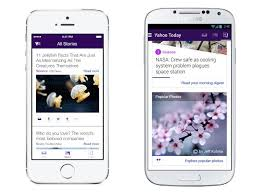 yahoo app for android yahoo mail app update brings news search and more technology news