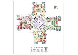 Multiplex Floor Plans by Floor Plan Nirmal Lifestyle Turquoise At Mulund Mumbai