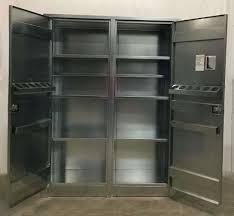 Metal Storage Cabinet Metal Storage Cabinet With Doors 10 Judul Blog